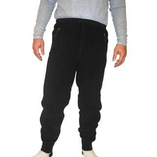 Spiral Men's Polartec 200 Fleece Pants (32-inch Inseam)|https://ak1.ostkcdn.com/images/products/9409774/P16597639.jpg?impolicy=medium