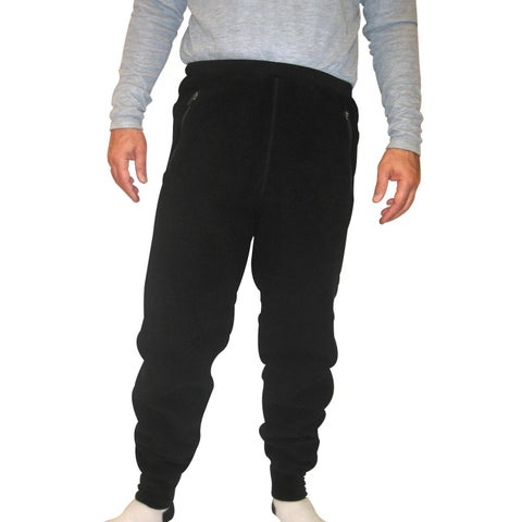 Spiral Men's Polartec 200 Fleece Pants (34-inch Inseam)