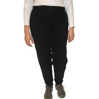 Spiral Women's Polartec Black 200-weight Fleece Pants