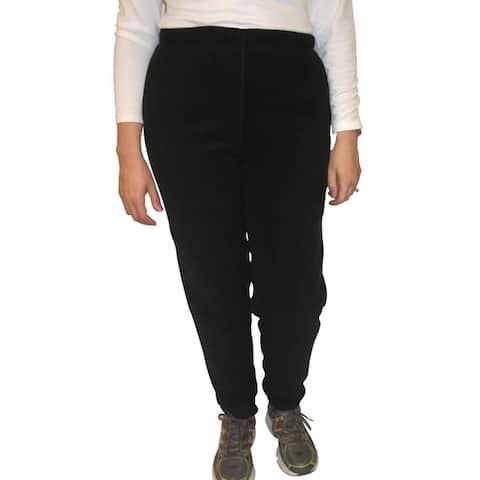 Spiral Women's Polartec Black 200-weight Fleece Pants