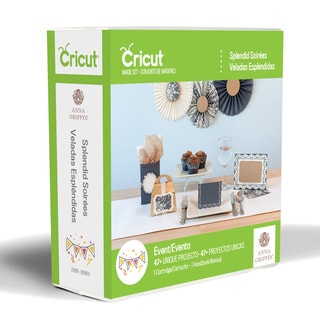 Cricut Shape Cartridge Splendid Soirees by Anna Griffin