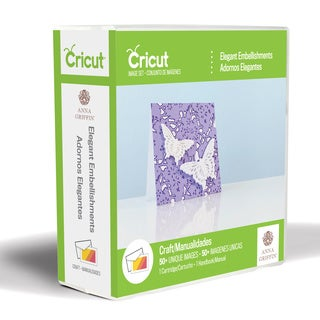 Cricut Shape Cartridge-elegant Embellishments By Anna Griffin