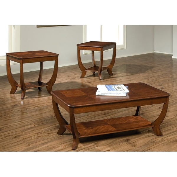 Liberty Cherryville Autumn Blush Occasional Tables (Set of 3)