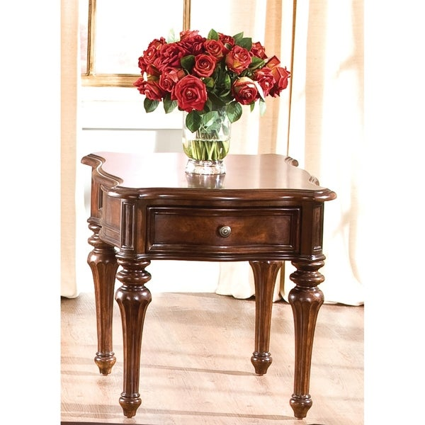 Hideout End Table Free Shipping: Shop Andalusia Vintage Cherry End Table