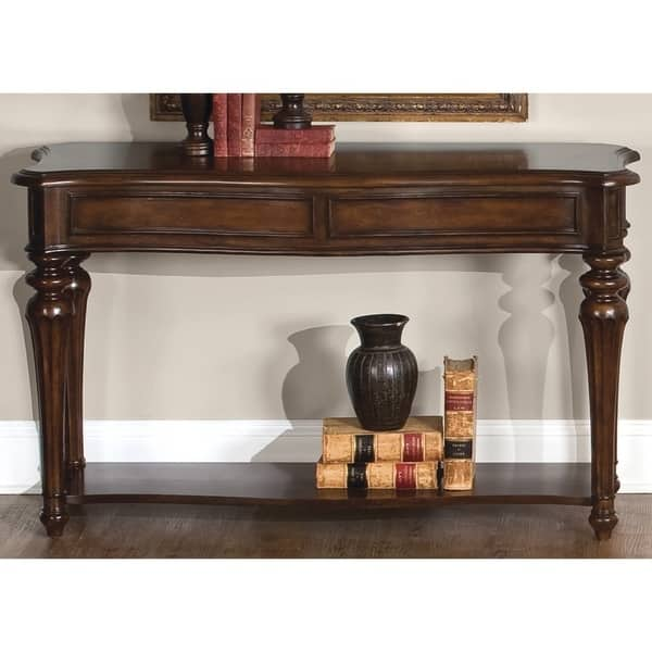 Stupendous Andalusia Vintage Cherry Sofa Table Andrewgaddart Wooden Chair Designs For Living Room Andrewgaddartcom