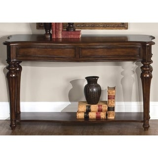 Liberty Cherry and Walnut Burl Sofa Table