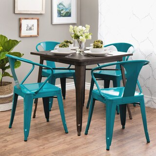 peacock tabouret stacking chair set of 4 - Four Dining Room Chairs