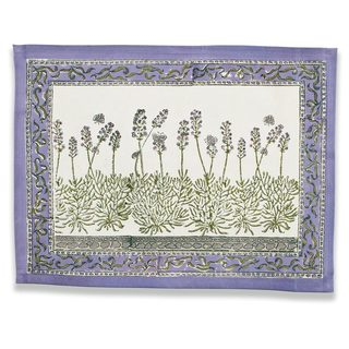 Couleur Nature Lavender Placemat (Set of 6)