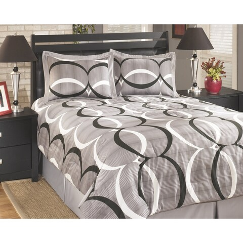 Signature Designs by Ashley Primo Alloy Comforter Set