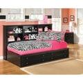 Signature Design by Ashley Jaidyn Black Storage Bed