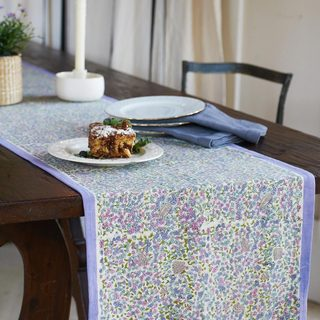 Couleur Nature Lavender Table Runner