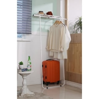 Link to idée Leaning Garment Rack with Shelf Similar Items in Laundry