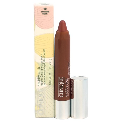 Clinique Chubby Stick 10 Bountiful Blush Moisturizing Lip Color Balm