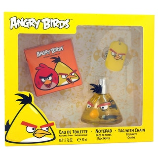 Angry Birds Yellow Men's 3-piece Gift Set