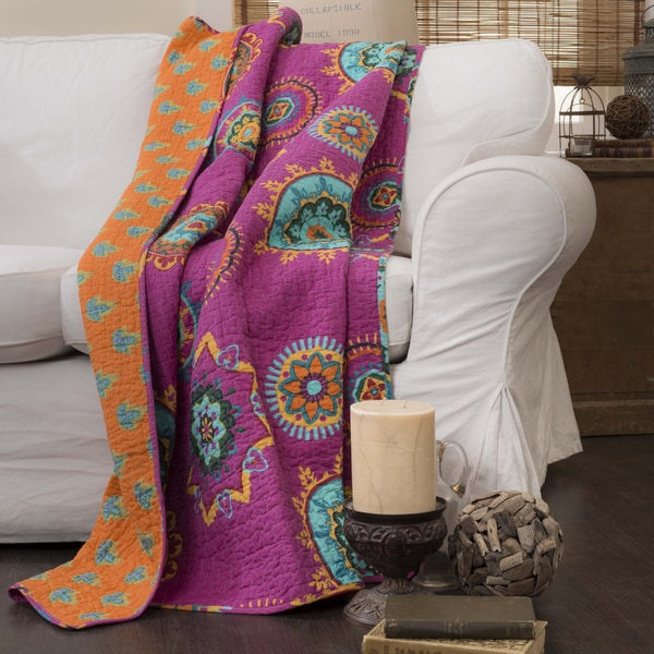 Lush Decor Adrianne Quilted Throw