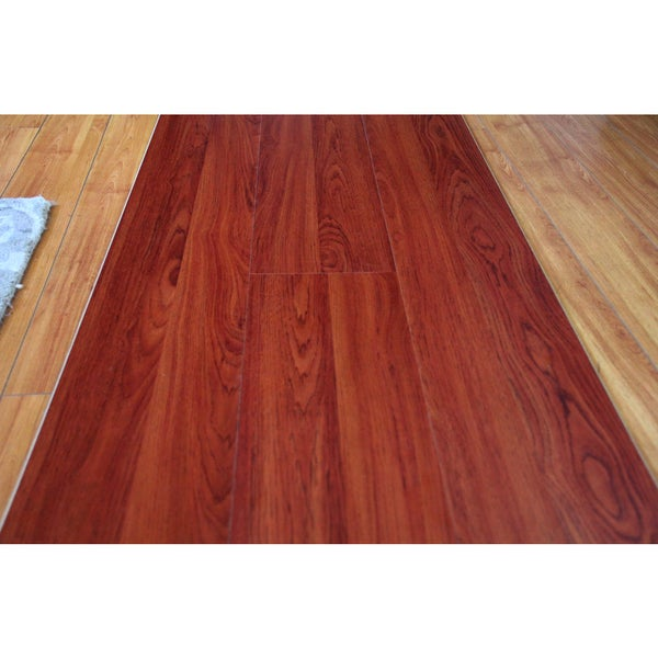 Laminate flooring cherry oak gurus floor for Hardwood floors 600 sq ft