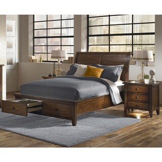 Camden Storage Bed with Two Nightstands (2 options available)