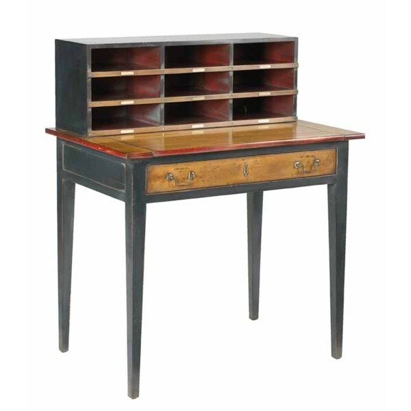 French Heritage Desk With Pull Out Free Shipping Today
