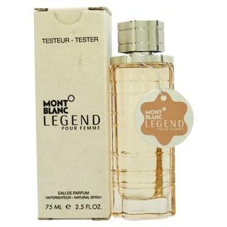 Montblanc Mont Blanc Legend Women's 2.5-ounce Eau de Parfum Spray (Tester)