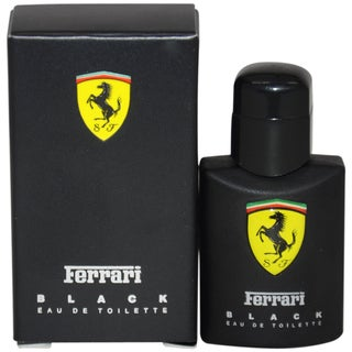 Ferrari Black Men's 4 ml Eau de Toilette Splash (Mini)