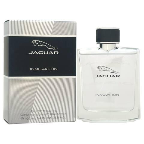 Jaguar Innovation Men's 3.4-ounce Eau de Toilette Spray