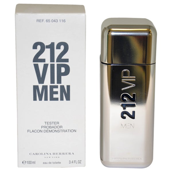Carolina Herrera 212 Vip Men S 3 4 Ounce Eau De Toilette