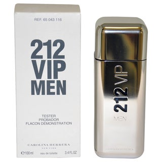 Carolina Herrera 212 VIP Men's 3.4-ounce Eau de Toilette Spray (Tester)