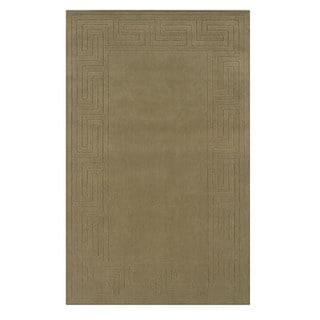 Linon Classic Cedar Green Area Rug (5' x 8')