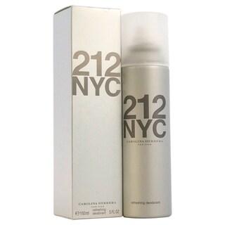 Carolina Herrera 212 NYC Women's 5-ounce Deodorant Spray