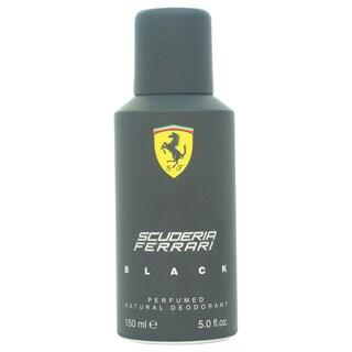 Ferrari Black Ferrari Men's 5-ounce Deodorant Spray