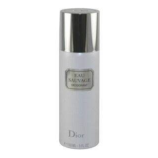 Christian Dior Eau Sauvage Men's 5-ounce Deodorant Spray