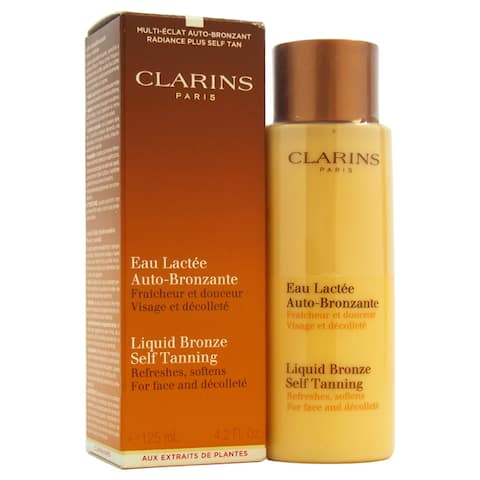 Clarins Liquid Bronze Self Tanning 4.2-ounce Sun Care