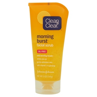 Clean and Clear Morning Burst Oil-free 5-ounce Facial Scrub