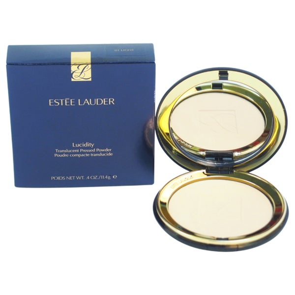 Estee Lauder 01 Light Normal/ Combination And Dry Skin Lucidity Translucent Pressed Powder ...