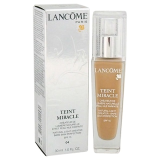 Lancome Teint Miracle Natural Light Creator SPF 15 04 Beige Nature Foundation