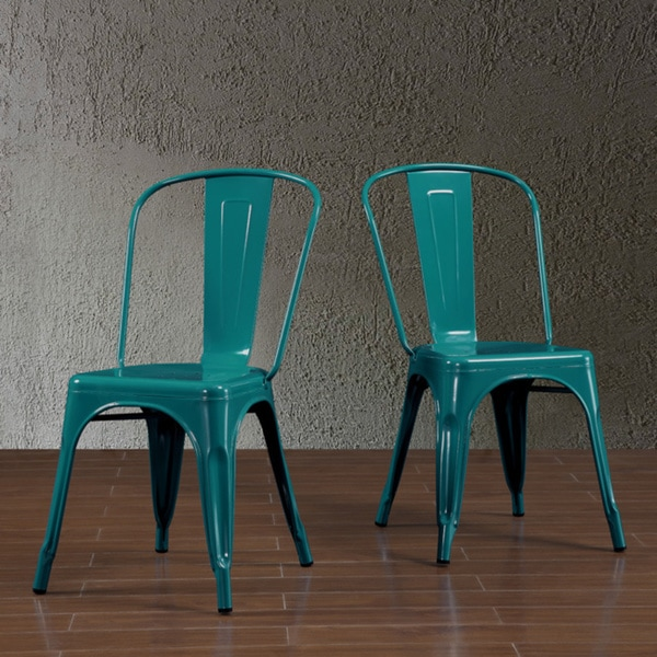Tabouret Bistro Peacock Side Chairs Set Of 2 Free