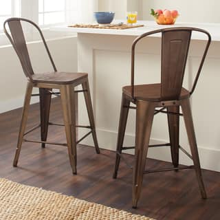 Excellent Buy Steel Counter Height 23 28 In Counter Bar Stools Short Links Chair Design For Home Short Linksinfo