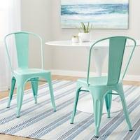 Carbon Loft Tabouret Bistro Dining Chair Hint of Mint (Set of 2)