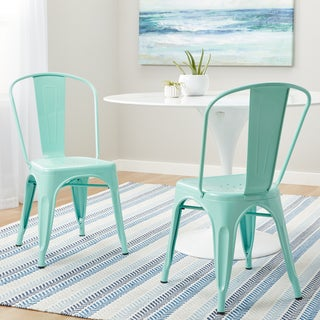 Carbon Loft Tabouret Bistro Dining Chair Hint of Mint (Set of 2)