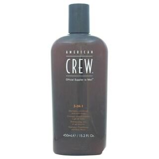American Crew 3-in-1 15.2-ounce Shampoo & Conditioner