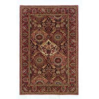 Linon Rosedown Burgundy/ Coral Area Rug (9' x 12')