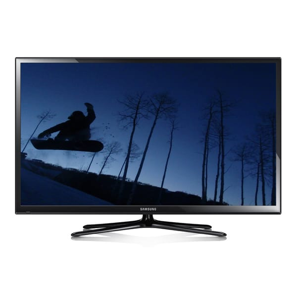 60 inch samsung 1080p 600hz plasma hdtv model pn60f5300 refurbished free shipping today. Black Bedroom Furniture Sets. Home Design Ideas