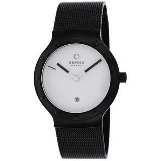 Obaku Women's V119LBWMB Harmony Black Watch