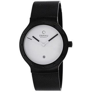 Obaku Women's V119LBWMB Harmony Black Watch