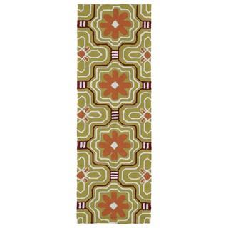 Luau Gold Tile Indoor/ Outdoor Rug