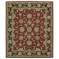 Hand-tufted Anabelle Salsa Wool Rug (7'6 x 9')