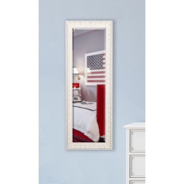 American made rayne french victorian white 21 x 60 inch for Mirror 45 x 60