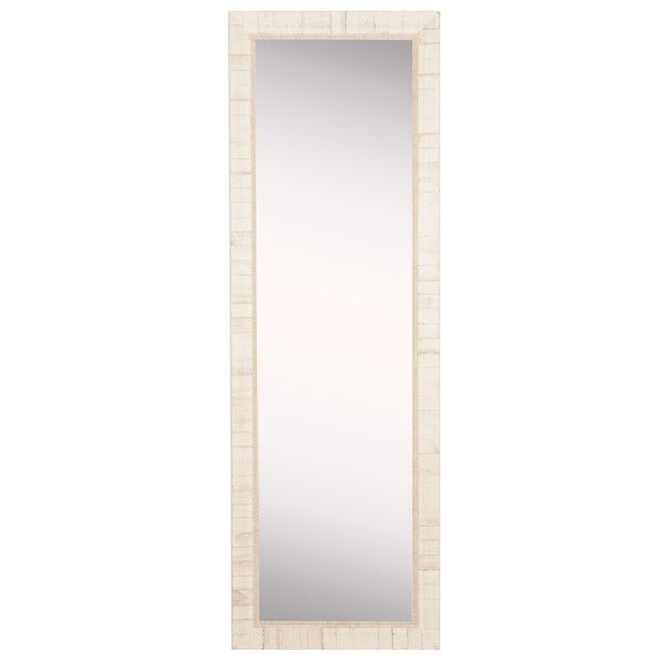 American Made Rayne Tuscan Ivory 20 x 59-inch Slender Body Mirror