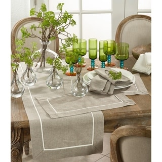 Pleated Design Placemats (Set of 4) or 1 Runner