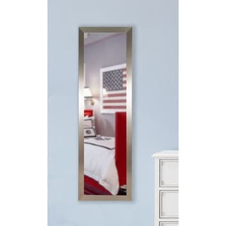 American Made Rayne Silver Petite 19.5 x 58.5-inch Slender Body Mirror